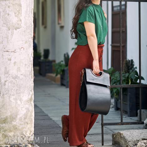 torba skórzana torebka z naturalnej skóry od ladybuq do biura na dokumenty