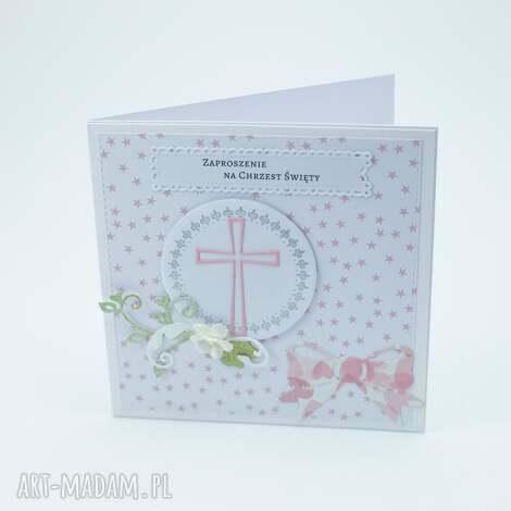 studiopapieru zaproszenia na chrzest - 10 szt, zaproszenie, chrzest, komunia