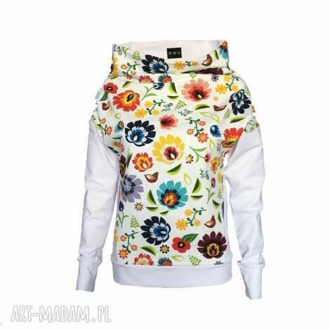 bluza folkowa z motywem łowickim, folk, folkowa-bluza, folkowa-bluzka, motyw-łowicki