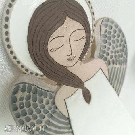 ceramika anioł ceramiczny - pula, anioł, komunię, zawieszka, aniołek, ślub