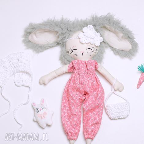 lalki lalka króliczka z maleństwem, królik, lalka, eko, urodziny, skandi