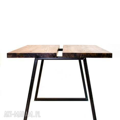 stół mopene industrialny minimalistyczny do jadalni, stół, jadalnia