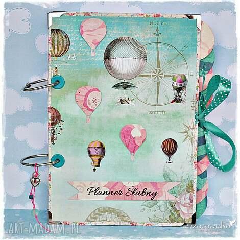 planer ślubny - latające balony - planner, planer, ślubny, ślub, wesele
