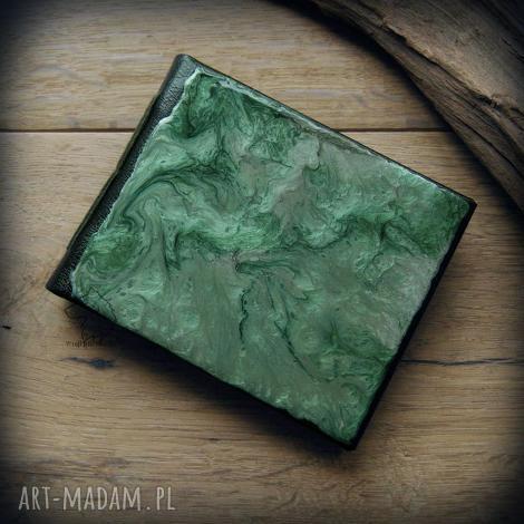 notesy notes kieszonkowy z twardą okładką imitacji skóry leśny - ręcznie robiony i