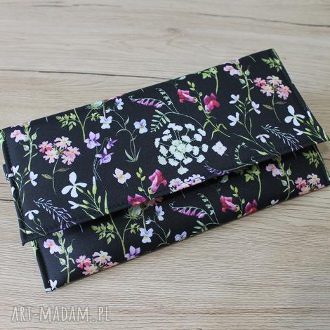 kopertówka - polne kwiaty wiosenna łąka, elegancka, nowoczesna, wesele