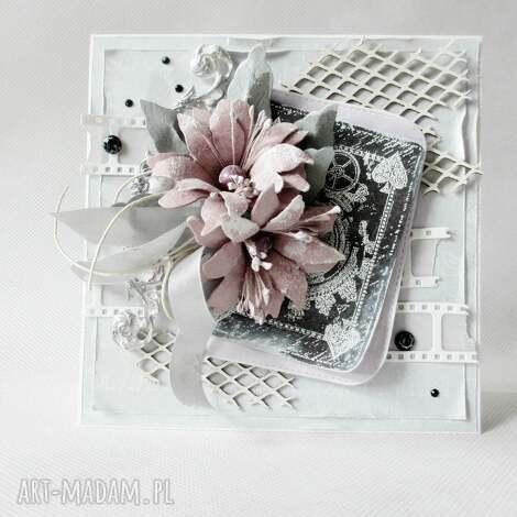 z życzeniami - w pudełku, gratulacje, życzenia, ślub, urodziny scrapbooking kartki