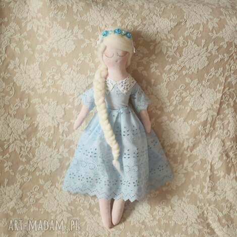 bajkoszycie koronkowa bajka - lalka śnieżka, lalka, wróżka, wianek, księżniczka, dla