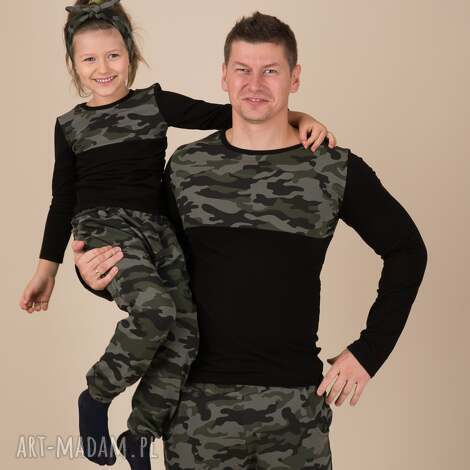 ubranka komplet bluzek dla taty i córki/syna, dlatatyicórki, dlatatyisyna