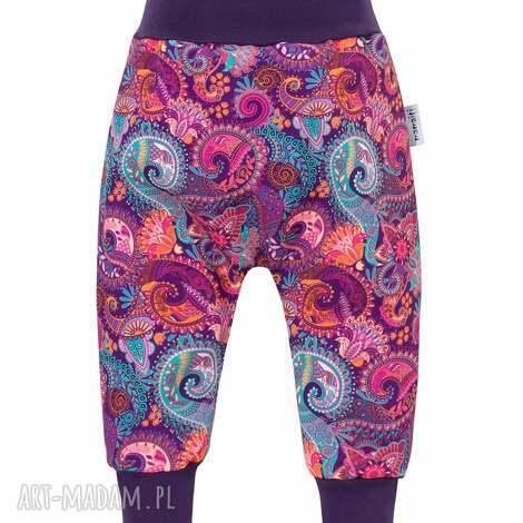spodenki softshell orient fiolet 104/110, spodnie softshell