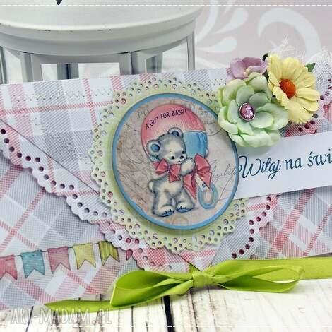 kartka z okazji narodzin- baby girl - narodziny, dziewczynka, kartka, gratulacyjna