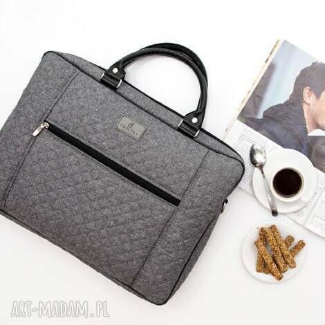 torba na laptopa 679, laptop, pikowana