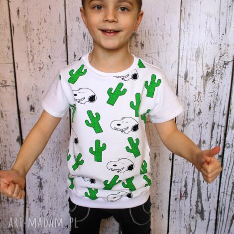 bluzka, t-shirt snoopy, bluzeczka, koszulka, kaktus