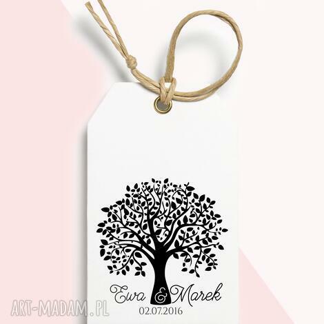 stemple stempel ślubny personalizowany drzewo, ślub, pieczątka