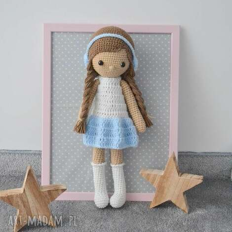 lala zuzia błękitna, lalka, lala, zabawki, dziecko, urodziny, prezent
