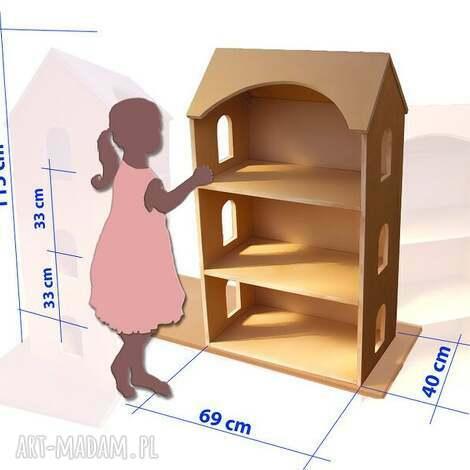 duży domek dla lalek, lalki, domek, zabawa, wystrój, dziewczynka lalki