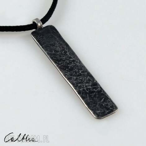 wisiorki kamień - srebrny wisiorek 200117-01, wisior, wisiorek, zawieszka
