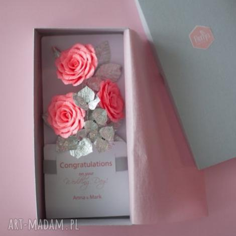 karteczki 3d., wedding, money envelope, congratulations card