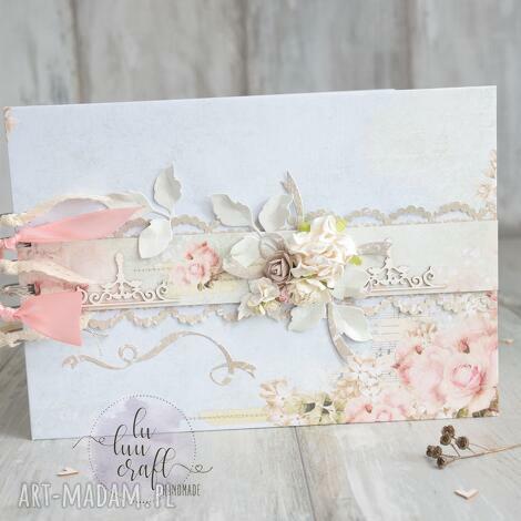 księga gości rose garden, księga, ślub, goście, wpisy, wesele, pamiątka