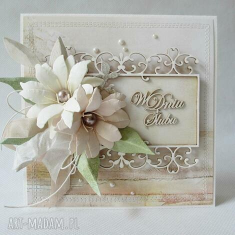 Ślubna - w pudełku - ślub, życzenia, gratulacje
