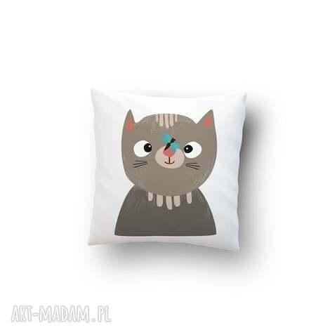 poszewka - kot, poduszka, poszewka, prezent dom, święta prezenty
