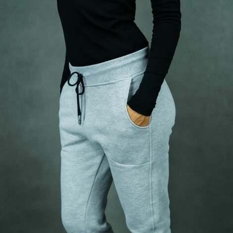 sportowe spodnie dresowe lilsweat pants szare, spodnie, ciepłe dresy