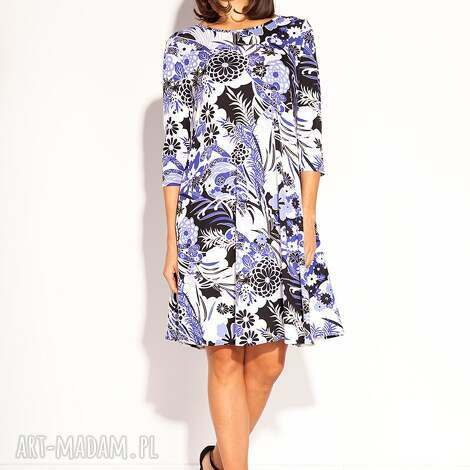 sukienka kesa, wiskozowa, wiosenna, luźna, dzianinowa, klasyczna, codzienna