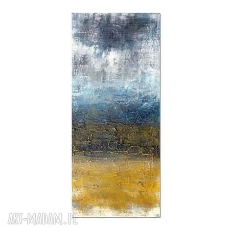 tundra, abstrakcja, obraz ręcznie malowany, obraz, ręcznie, malowany