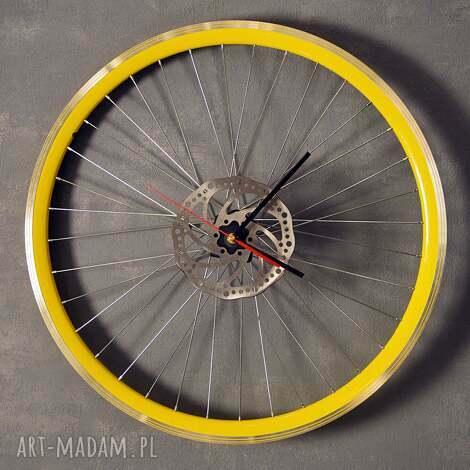 zegary zegar ścienny timess up, zegar, industrialny, rower, prezent, loft, rowerzysty