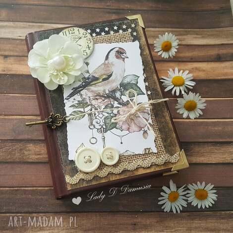 damusia stylowy kalendarz z ptaszkiem i kluczykiem, kalendarz, ptaszki, zegar