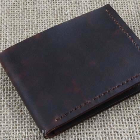 unikalny, portfel ze skóry, męski, portfel, skóra, prezent, urodziny, imieniny
