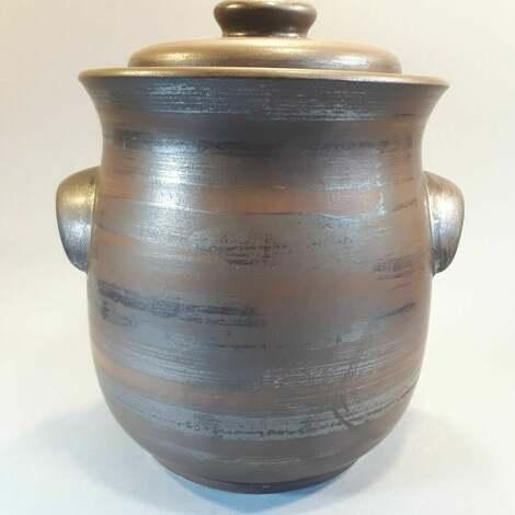 garnek hermetyczny do kiszenia warzyw, kiszonki, kiszone ogórki, ceramika