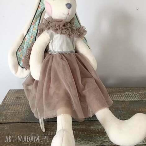 króliś tuliś, królik, maskotka, zabawka, przytulanka, zabawka handmade, króliczek