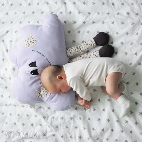 poduszka chmurka z możliwością personalizacji - na chrzciny, personalizowana