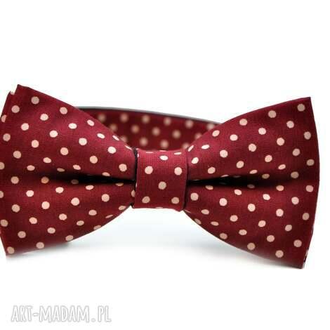 muchy i muszki mucha burgund, krawat, prezent, urodziny, imieniny, impreza, karnawał