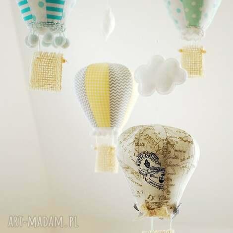 balon - ozdoba pokoju dziecka - balon, karuzela, mobil, powieszenia, pokoj, ozdoba