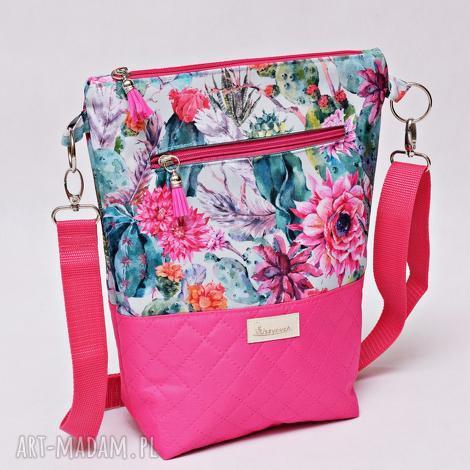torebka listonoszka wodoodporna, torba na ramię, mała przez ramię kwiaty