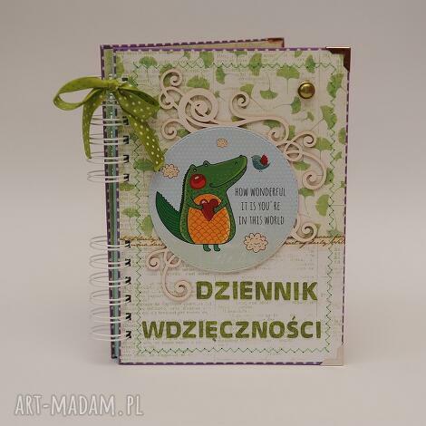 dziennik wdzięczności, notes
