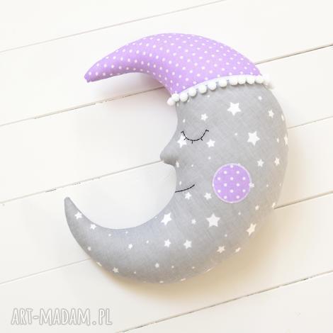 księżyc poduszka, poducha, moon, gwiazdki zabawka