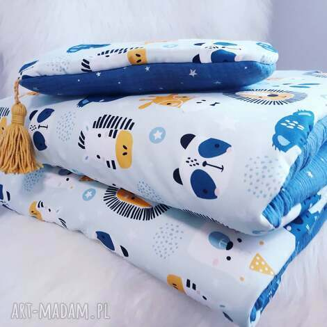 komplet do łóżeczka bawełna premium muślin - pościel, bawełna