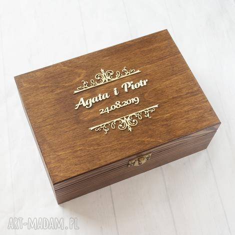 albumy pudełko na zdjęcia lub pamiątki, pudełko, drewno, rustykalne, eko