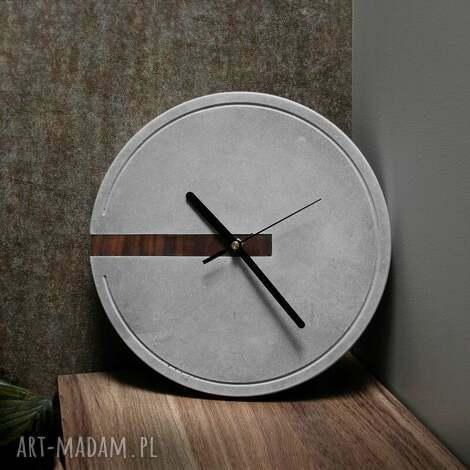 zegary nowoczesny zegar ścienny w stylu loftowym, minimalistyczny, eco