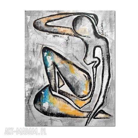 akt, matisse, nowoczesny obraz ręcznie malowany - obraz, akt, postać, abstrakcja