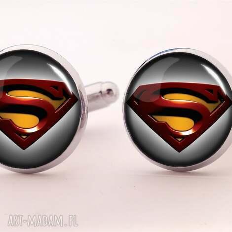 spinki do mankietów superman ii - mankietów, superman, super, facet