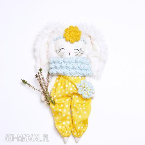 Madika design - lalka królik - zajączek, skandi eko