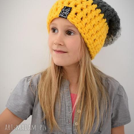 triquensik 08 czapka, czapa zima zimow ciepła, dziecięca