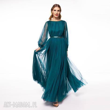 suknia mila (galowa balowa, elegancka tiulowa, karnawał, studniówka)