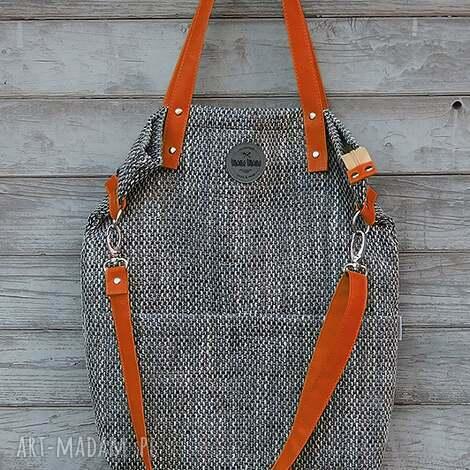 torebka damska cube rudy, jesień na ramię torebki