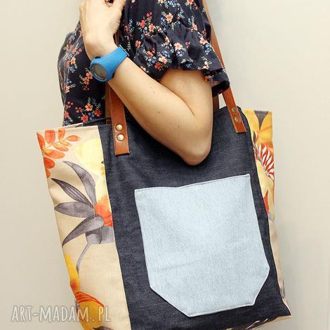 8d01853b3ad69 nowośćIndia torba worek. Niebieskie torebki na ramię pod choinkę149,00 zł.  pod choinkę prezent, kwiaty jeans, kwiaty, jeans torebki