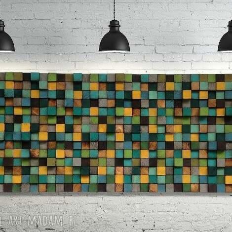 dekoracje mozaika drewniana na zamówienie, mozaika, drewniana, obraz, płaskorzeźba