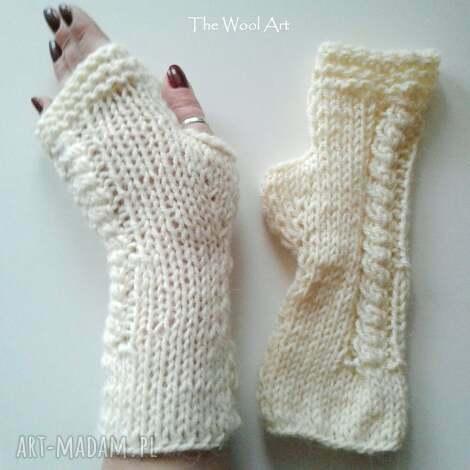 rękwiczki-mitenki - mitenki, dodatki, rękawiczki, wełniane